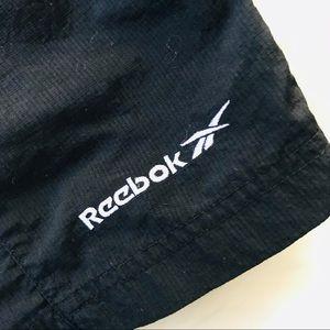 Men's Vintage Black Reebok Shorts Large